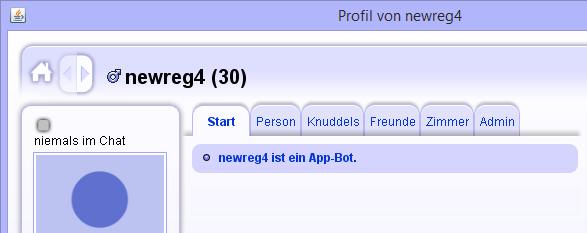 Profileintrag AppBot